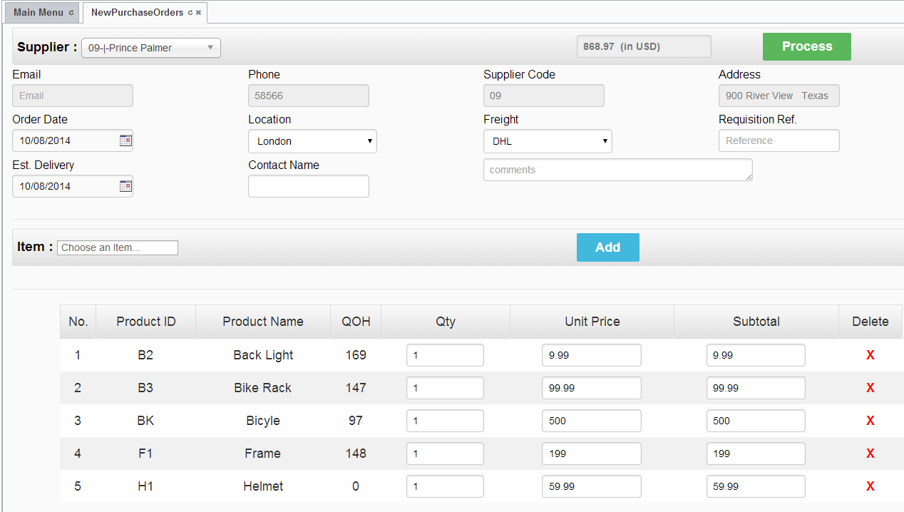 Business types using Costbucket POS