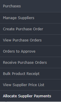 Products and purchases in costbucket pos